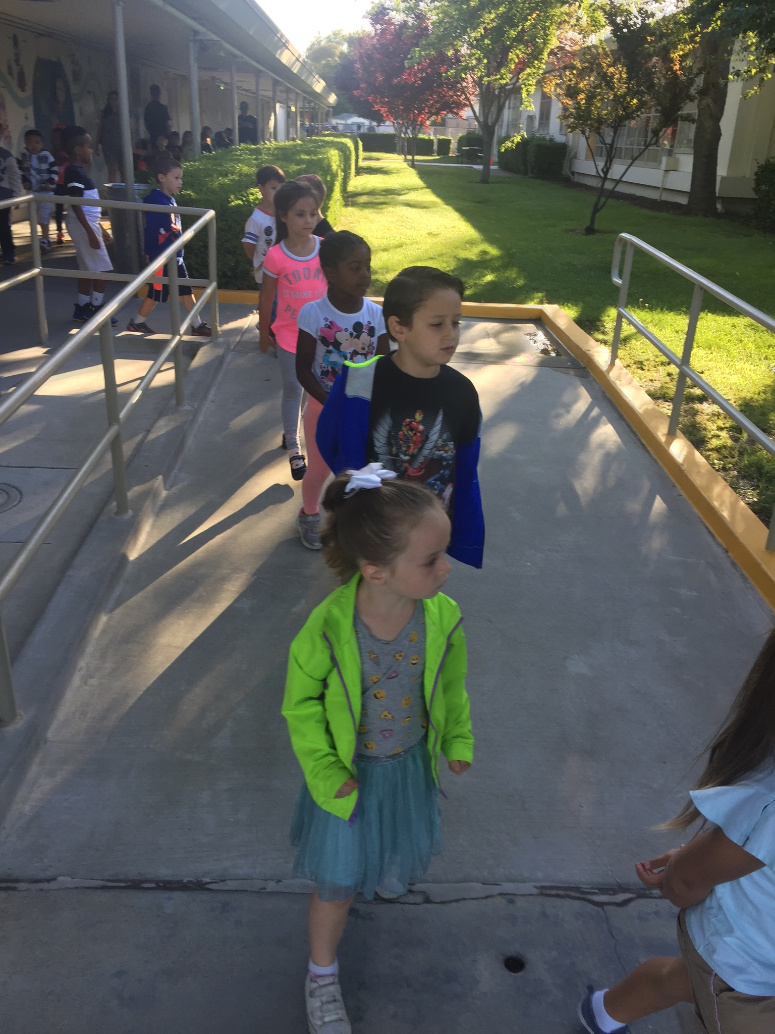 School Fire Drill Awesome Listeners