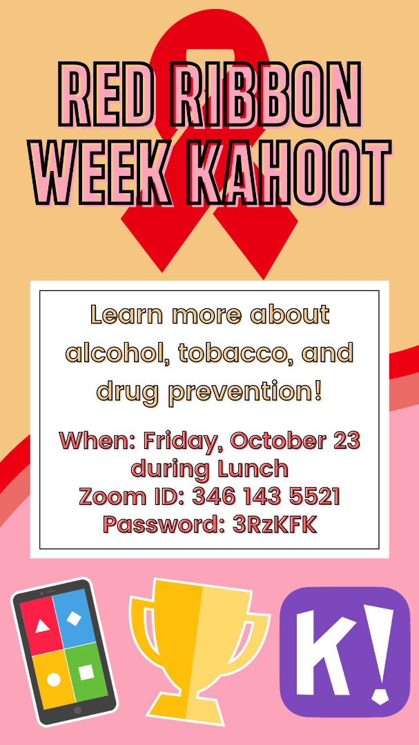 Red Ribbon Week Lunchtime Event
