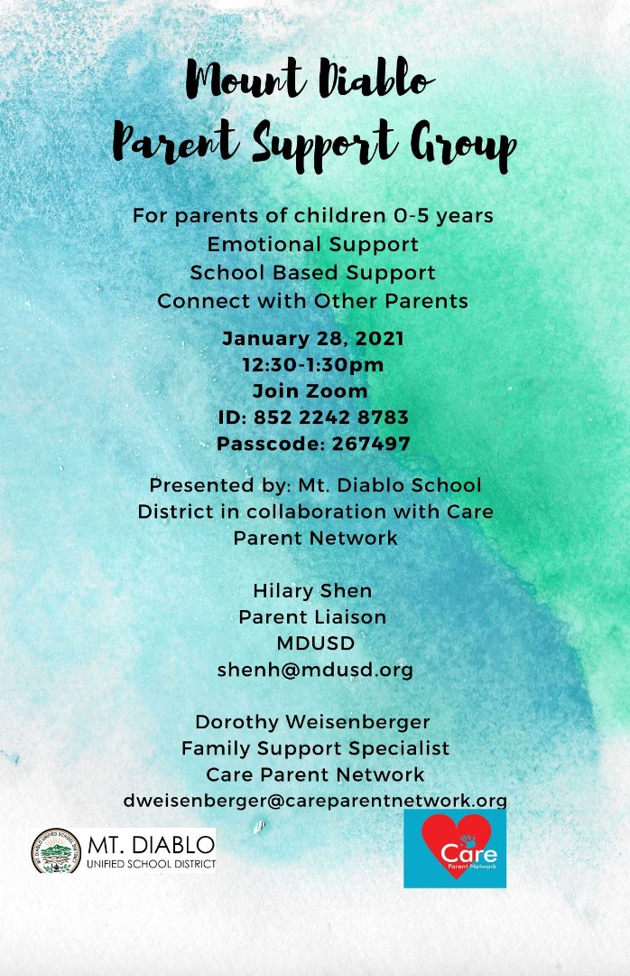 mdusd parent support group