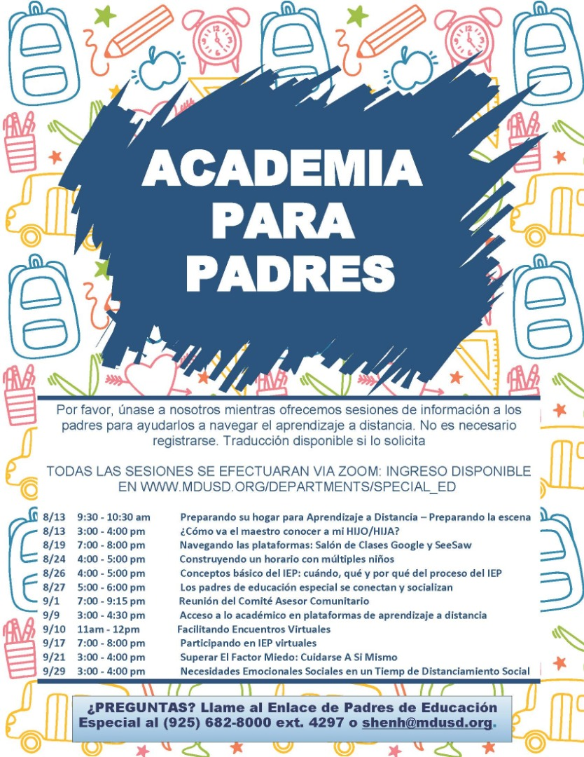 Sp Parent Academy