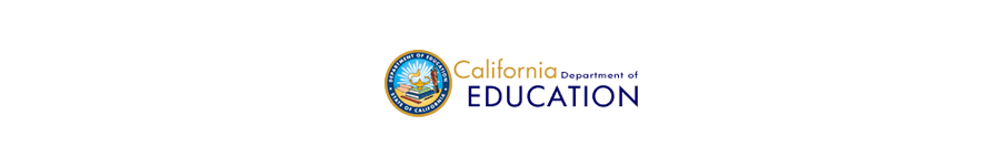 CA Dept of Ed