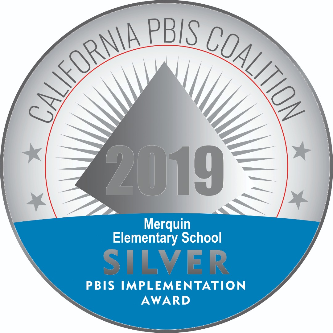 PBIS Silver Medal Implementation Award 2019