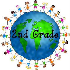 Second Grade Hnads around the world