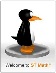 ST Math Penguin