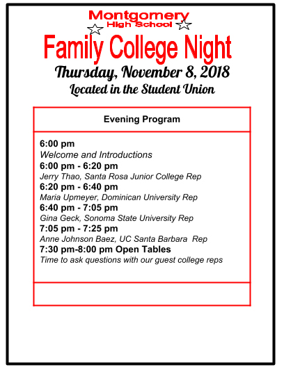 Family College Night