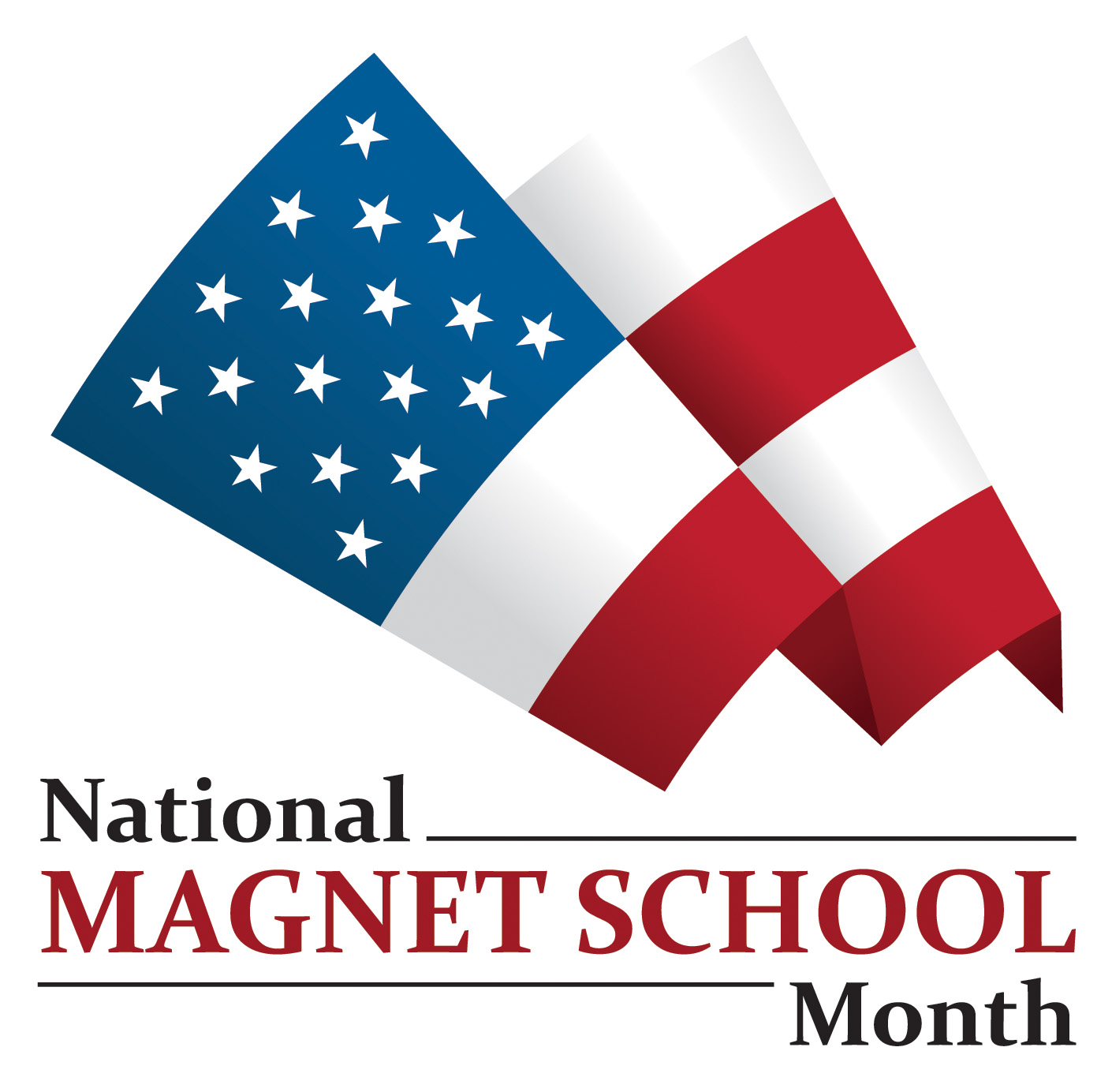Magnet School Month Logo