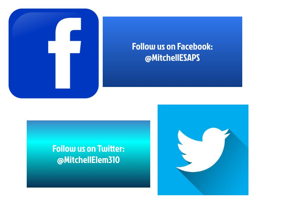 Get the latest news and updates on our Facebook and Twitter Pages