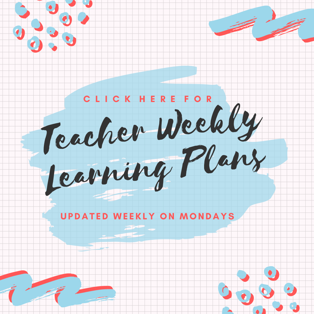 Weekly Learning Plans