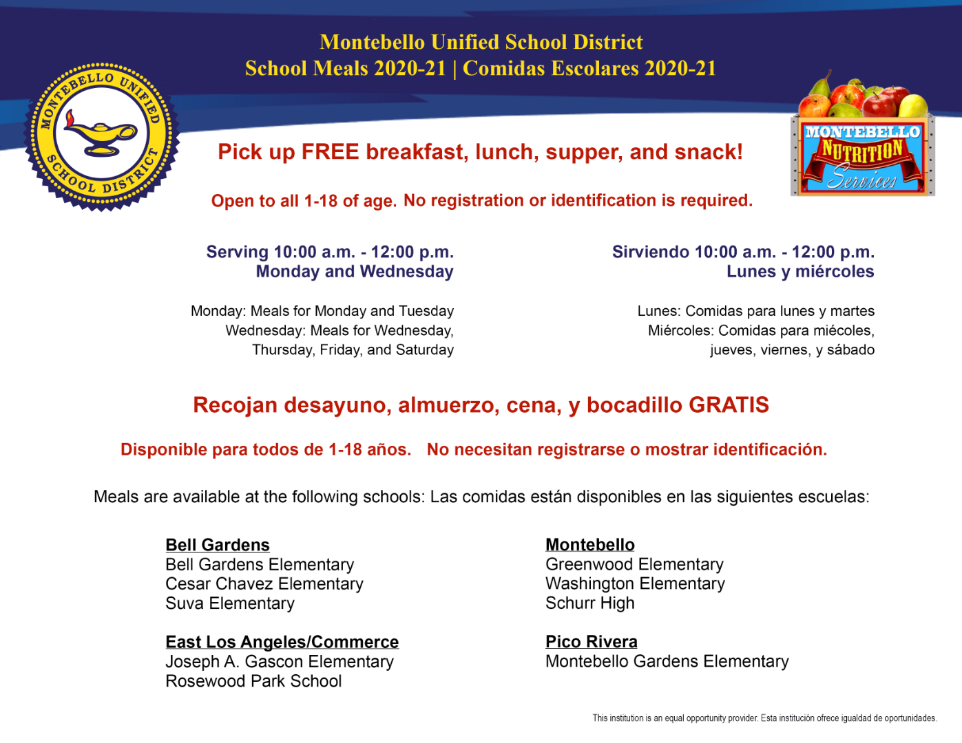 meal service flyer 2020-2021