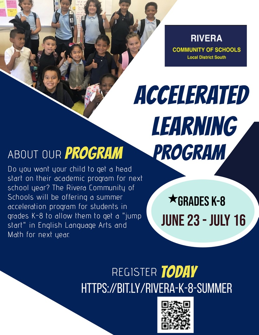 Accelerated Learning program flyer
