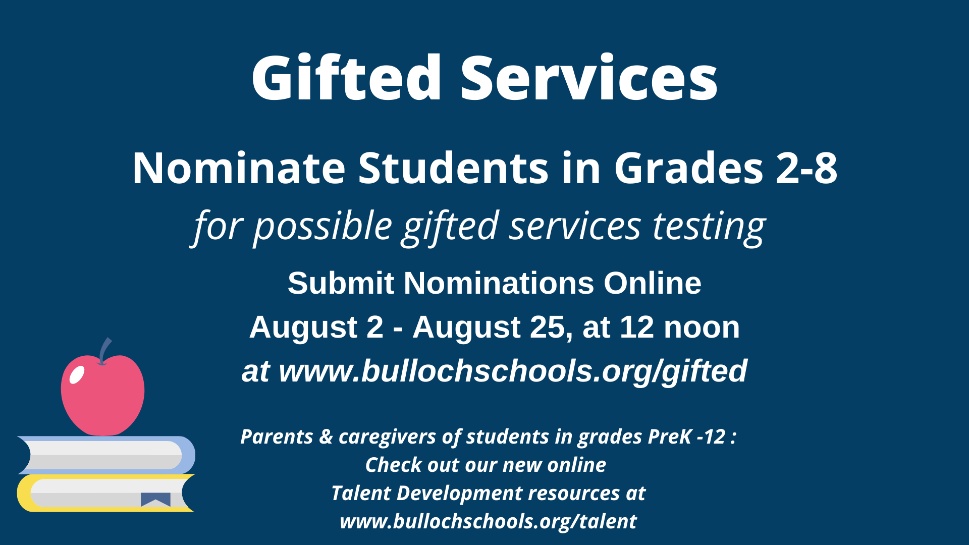 Gifted Services nominations