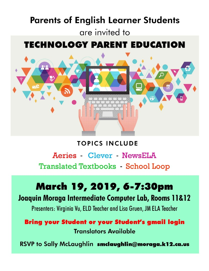 Tech Parent Meeting