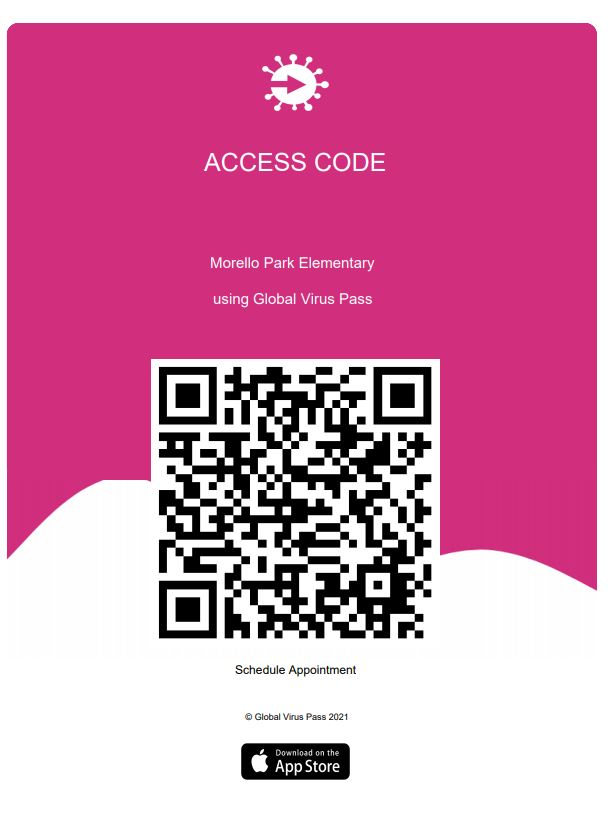 QR Code for MPE Covid Testing