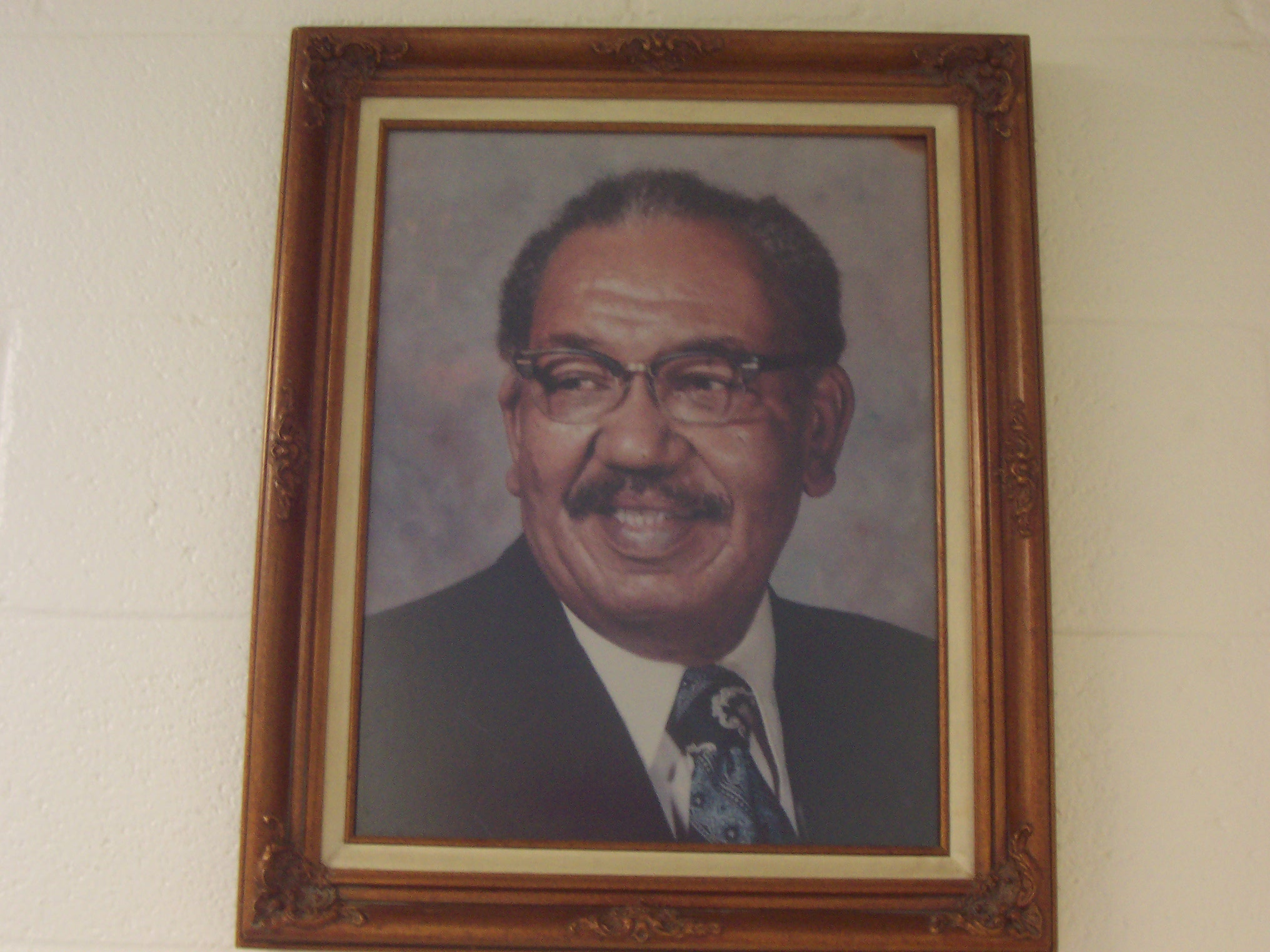 Mr. Henry McMillan - First Principal of Goulding Elementary