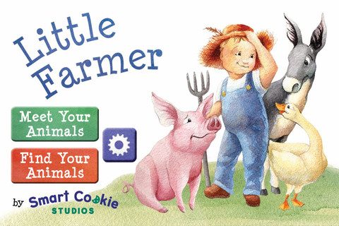 Little Farmer Book in Spanish