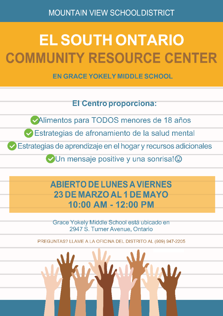Community Resource Center Spanish
