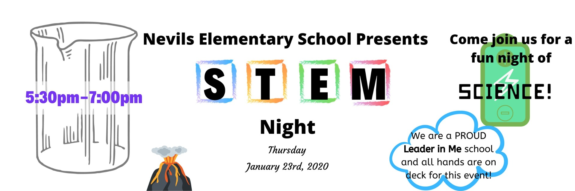 Please join us for STEM Night