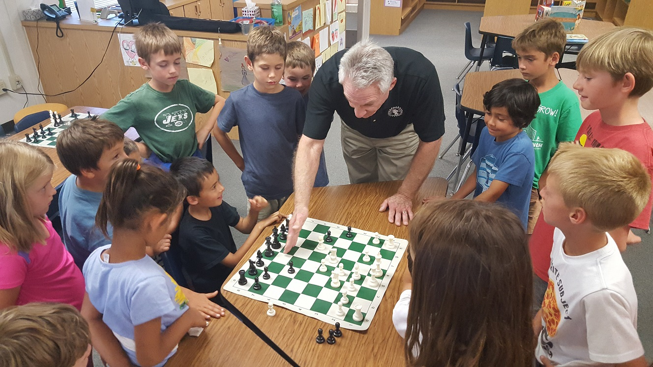 chess class with instructor