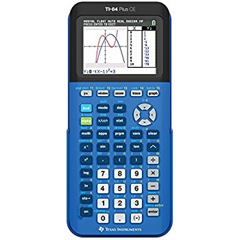 My favorite graphing calculator TI-84