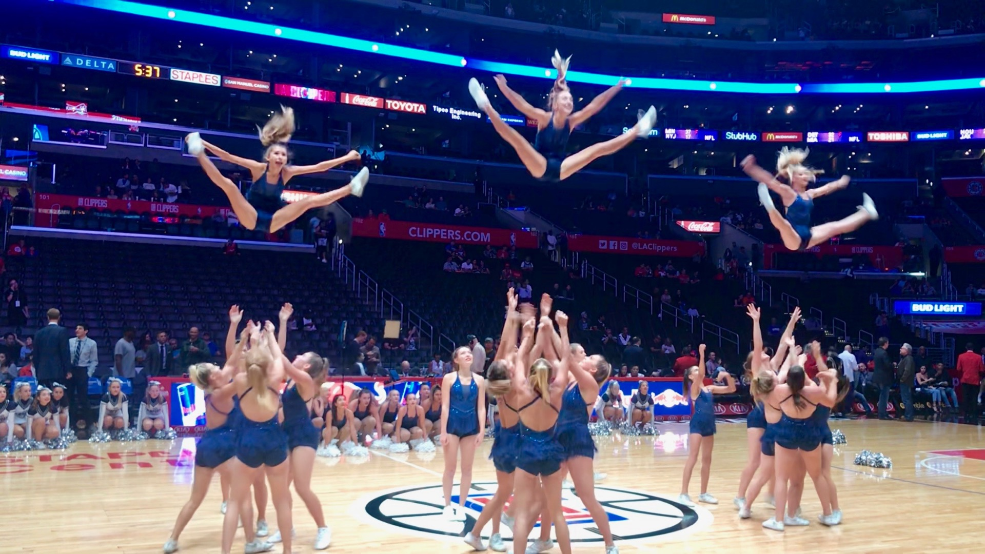 LA Clipper Game Performance!