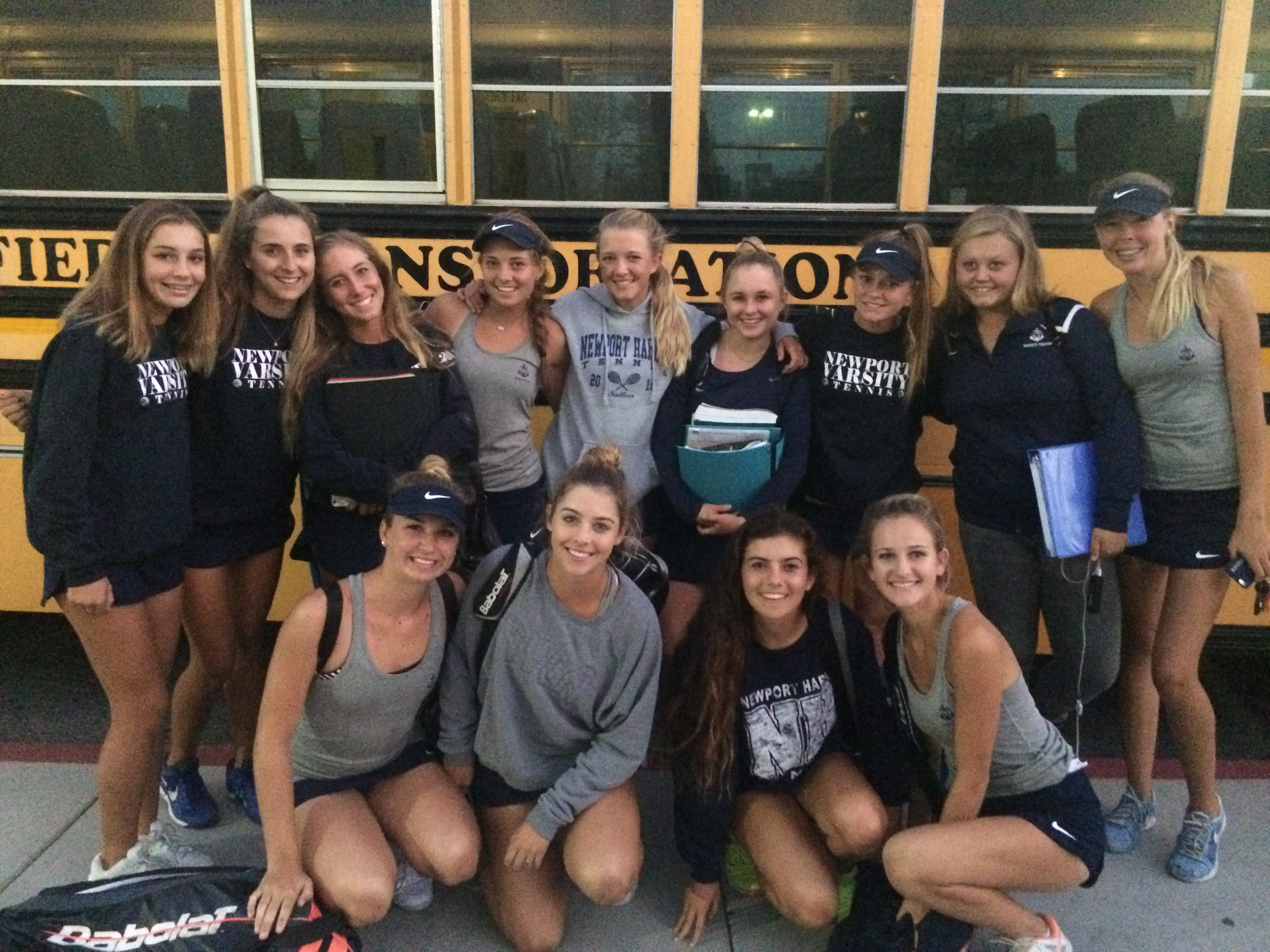 Girls Varsity Squad finishes 7-3 in league play: 3rd place Sunset League  finishers and CIF Division 1 playoffs bound…GO Sailors!