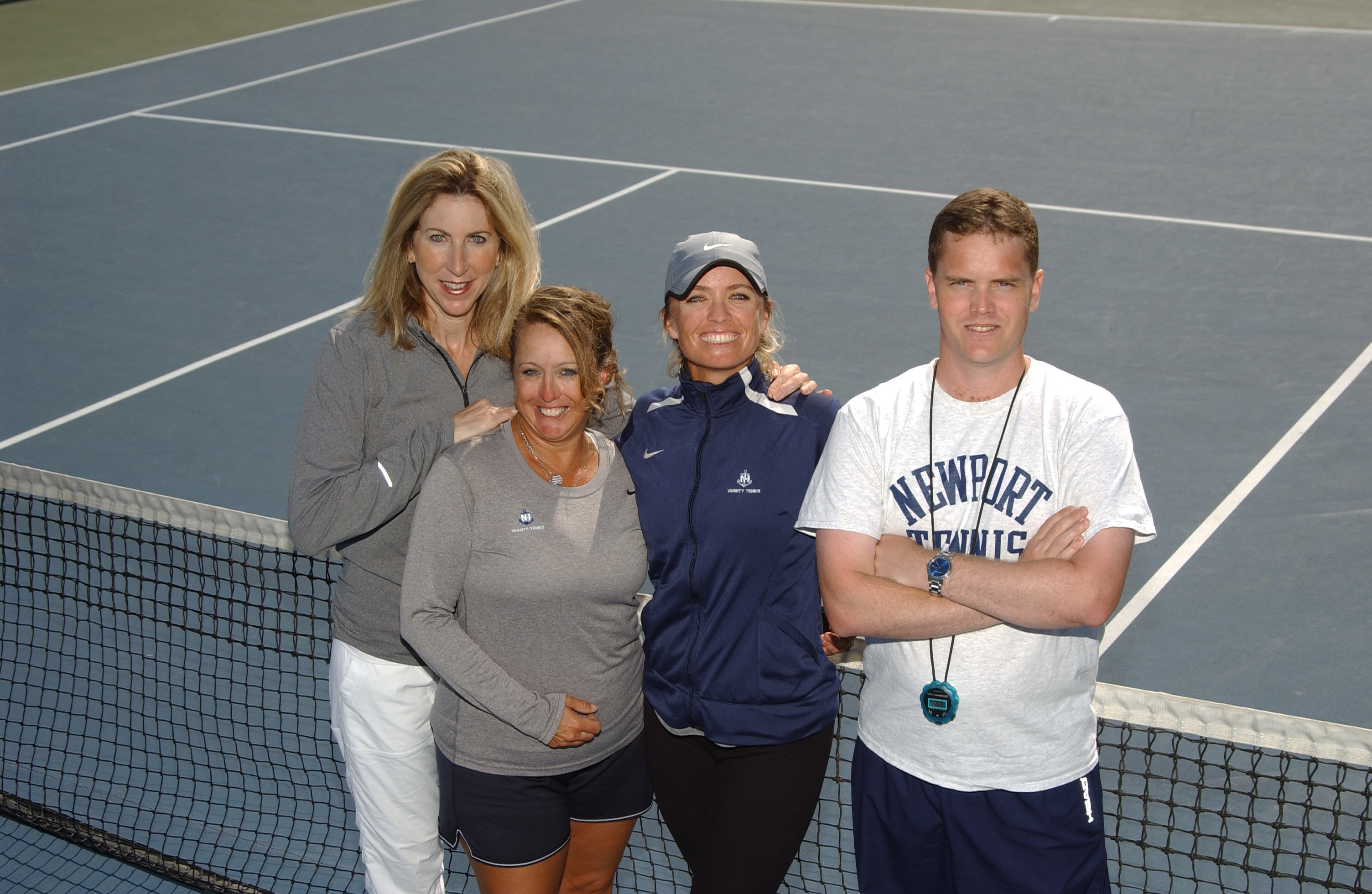 NHHS Sailor Tennis Coaching Staff
