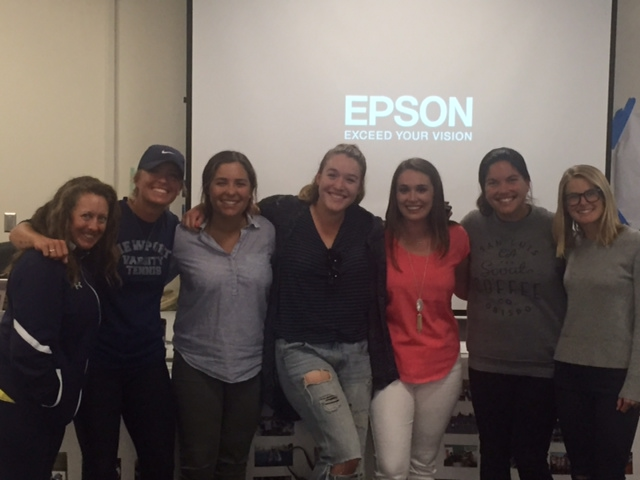 NHHS Girls Tennis Alumni return to the courts to inspire our Sailor players.  Thank you girls for sharing your wisdom and strength with us. Your heart and  passion for NH Tennis is so admirable. GO Sailors!