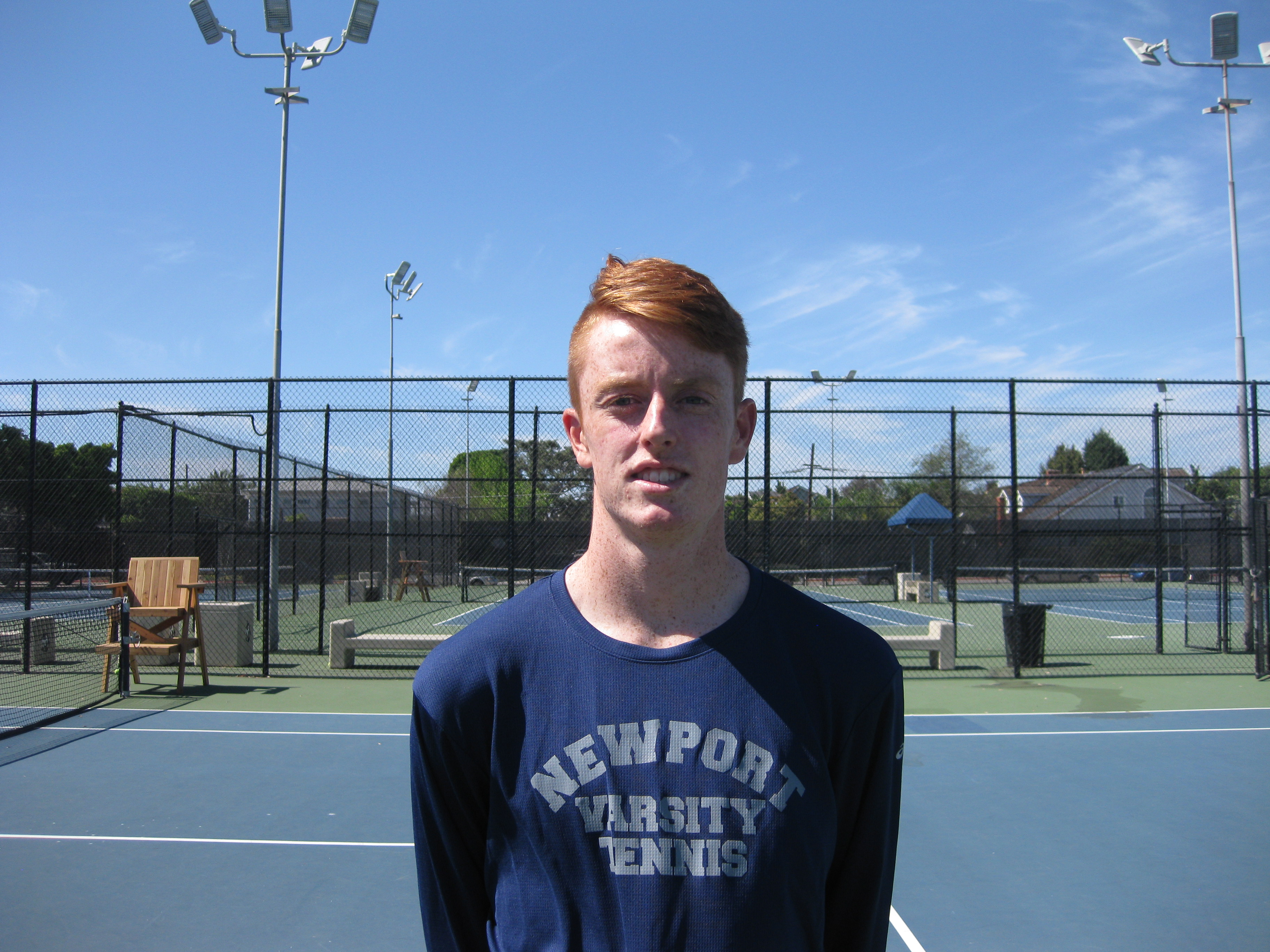 Sailors #1 singles player and TCU-Bound Reese Stalder remains undefeated in  singles play