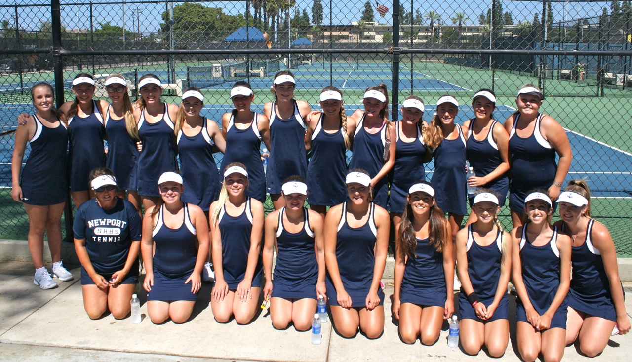 Girls JV Tennis 2014