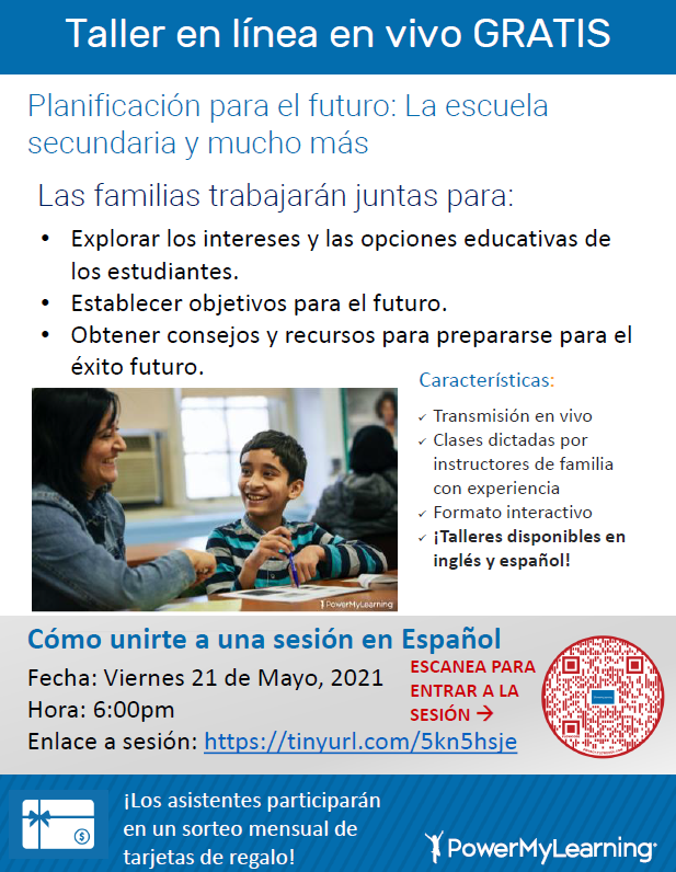 parent workshop spanish