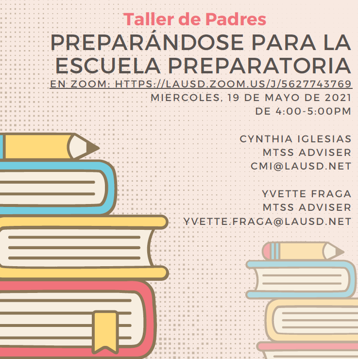 parent flyer in spanish