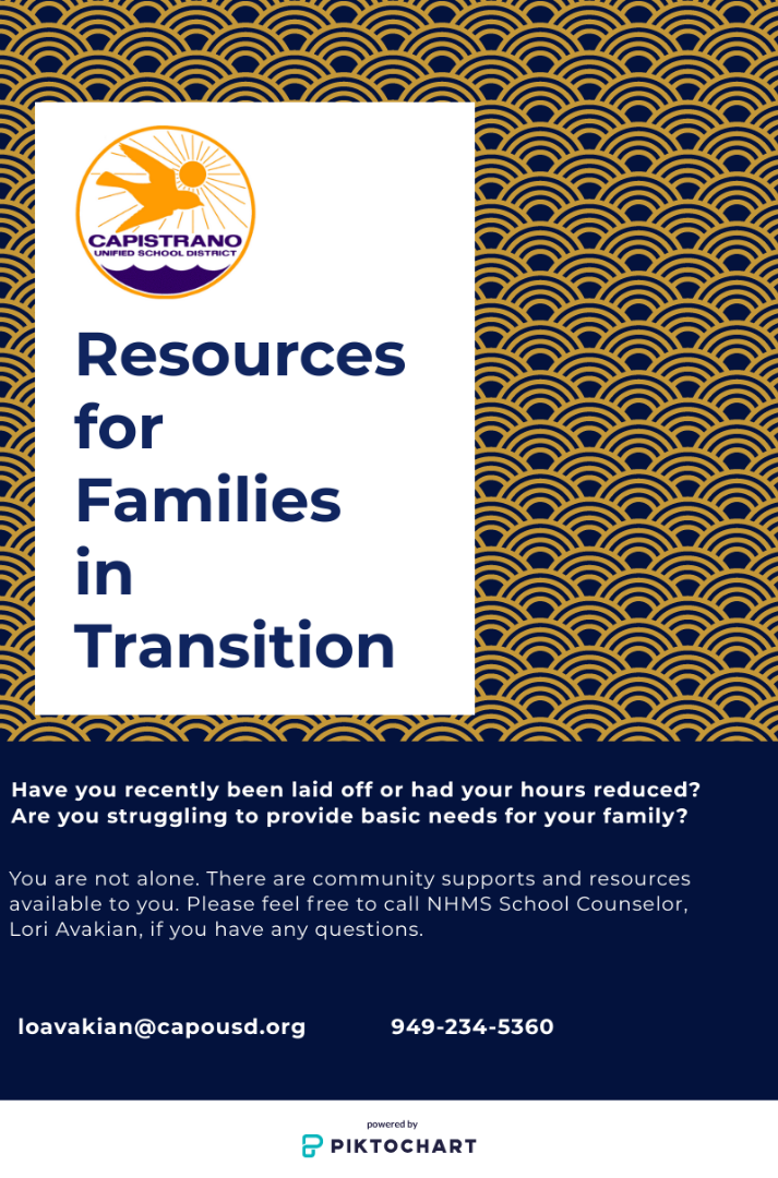 Resources for families in transition