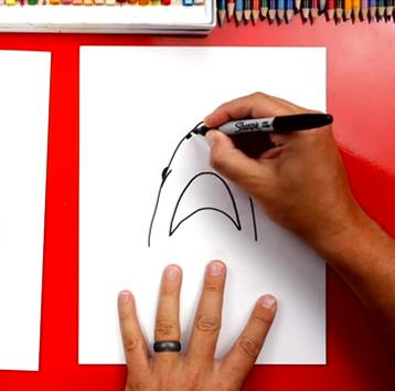 How to Draw a Shark, by Art For Kids Hub