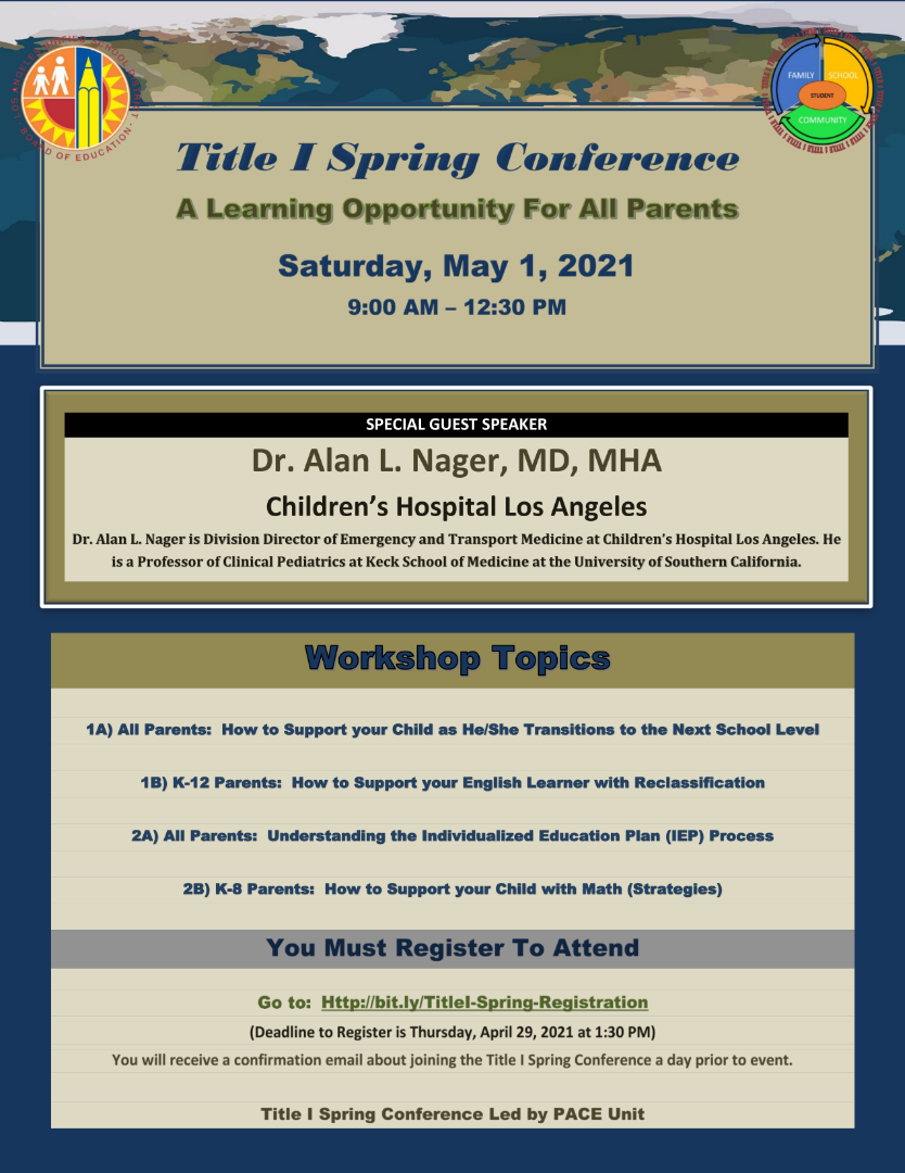 Title 1 Spring Conference