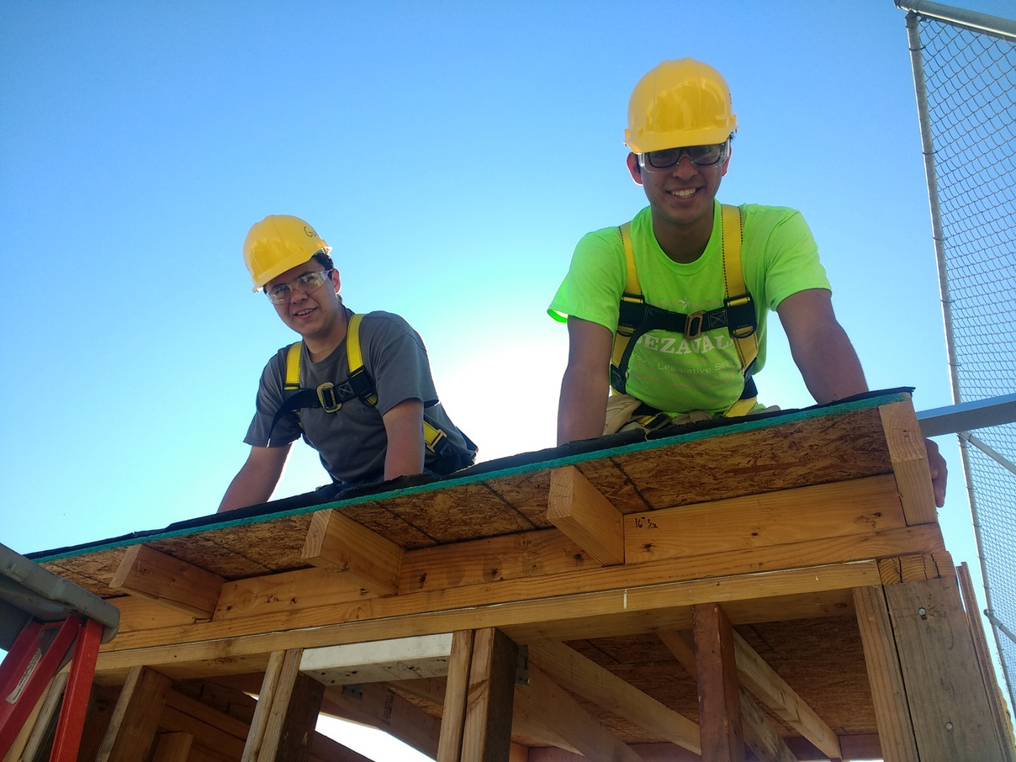 students roof framing