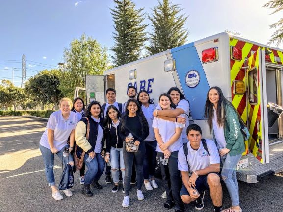 Students meet CARE employees