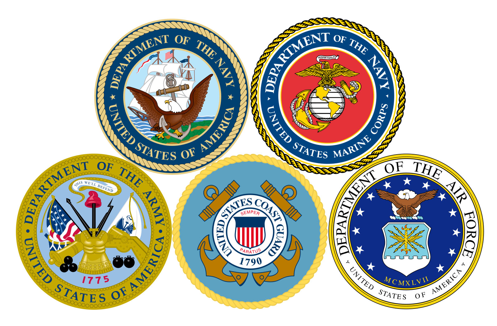 armed-forces seals