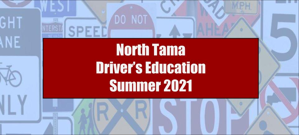 North Tama Driver's Ed 2021