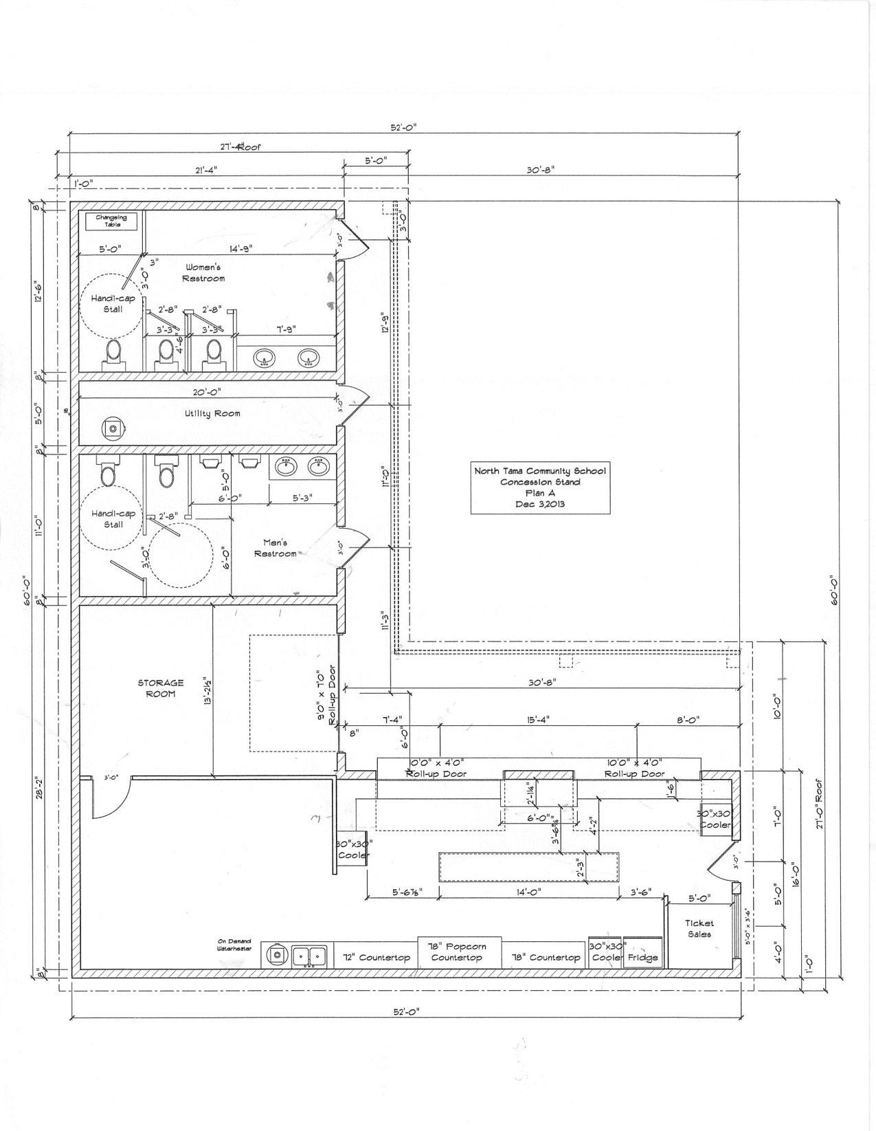 Concession Stand Plan