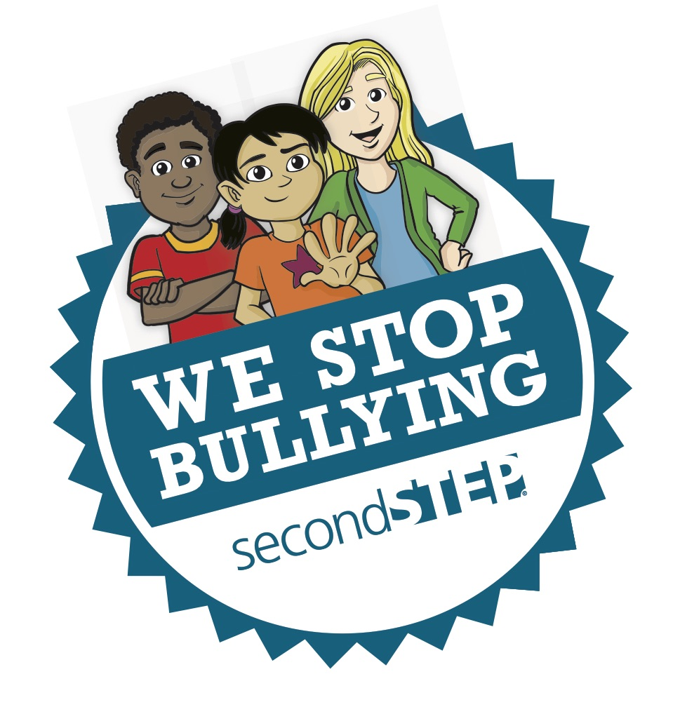 We Stop Bullying Second Step Badge