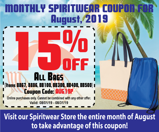 15% Off Coupon for Spiritwear