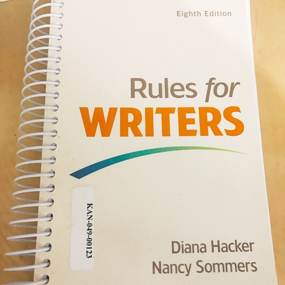 Diana Hacker Rules for WRiters Book
