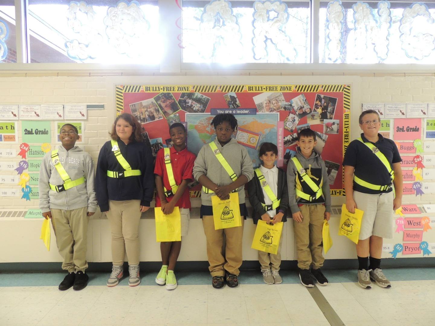 2018/2019 Oakcrest Elementary Safety Patrol