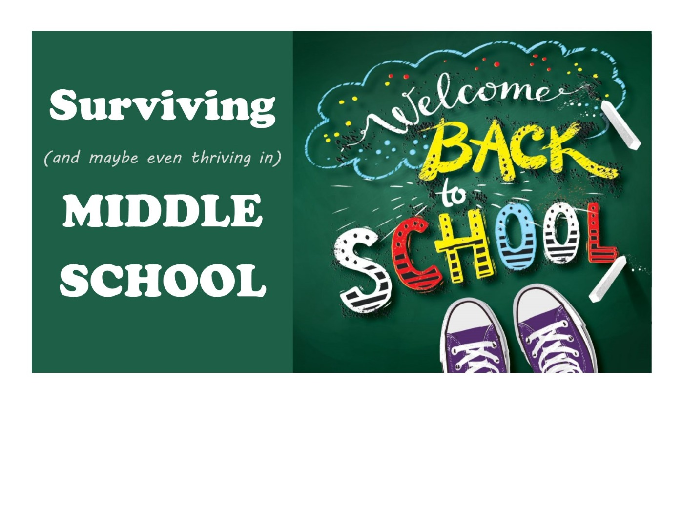 Books on surviving middle school