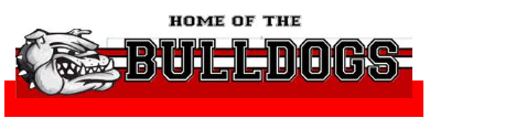 School logo Home of the Bulldogs