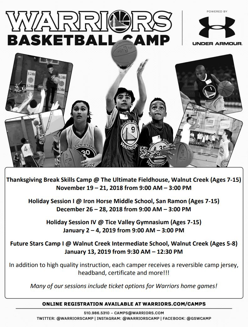 Warriors Camp Announcement