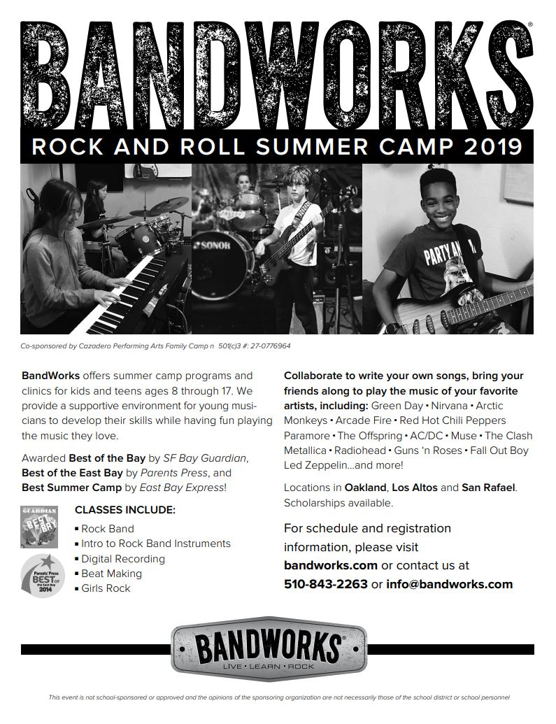 Bandworks Informational Flyer