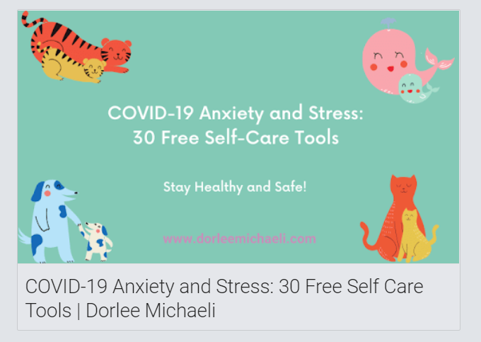 COVID 19 Anxiety and Stress Tools