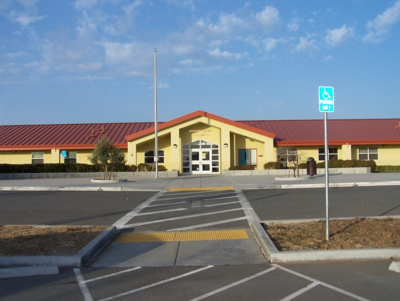 Almond Grove School main building