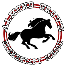 almond grove Mustangs logo
